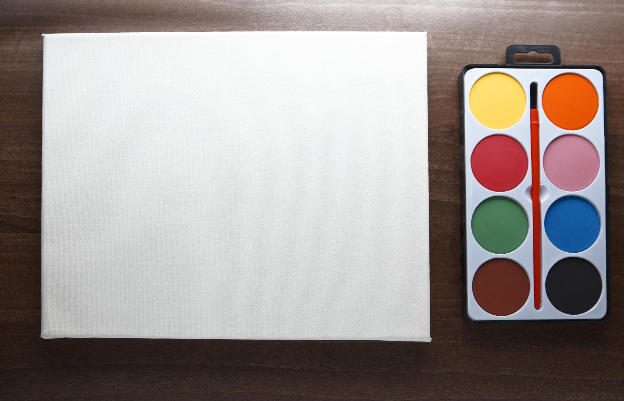 How to Use Watercolor Canvas and Prime Standard Canvas