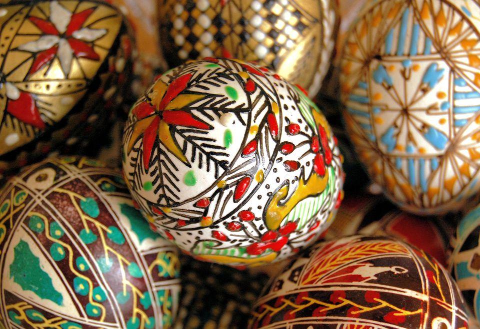 Easter Eggs from Bucovina
