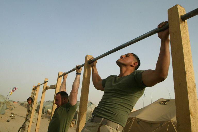 Marines pullups