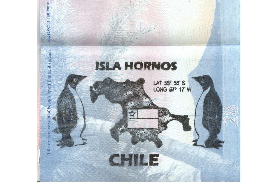 Cape Horn Passport Stamp
