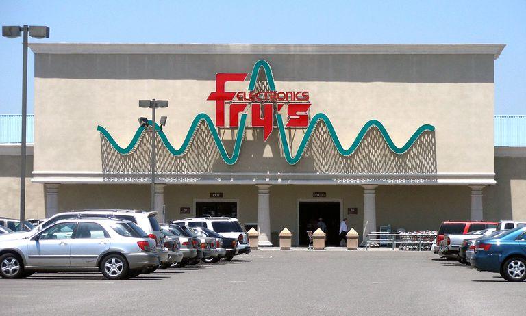 Fry's Electronics Storefront, Sunnyvale, California