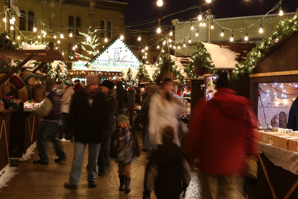 The German Christmas Market of Oconomowoc