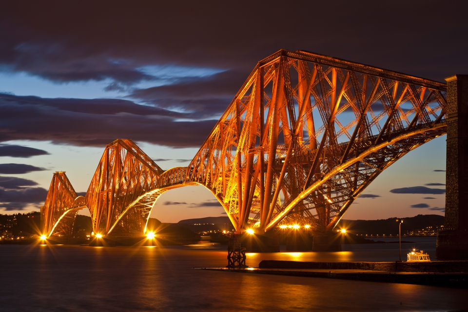 View of the Forth Bridge