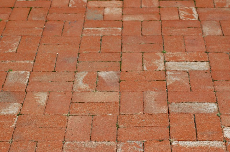 "Image: ""basket weave"" is the name for the brick pattern featured here."