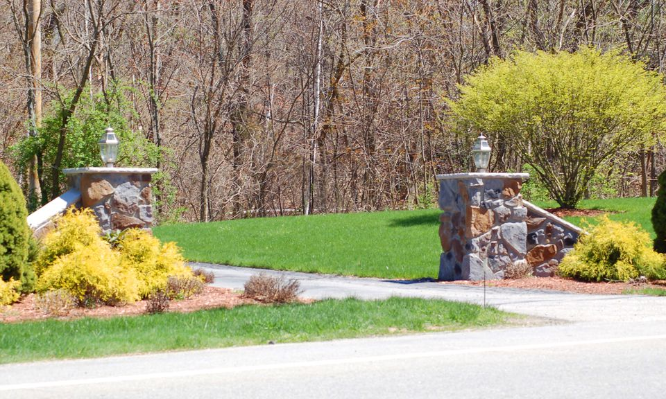 Don't skimp on driveway-entry plantings (image). They are the public face of your landscaping.