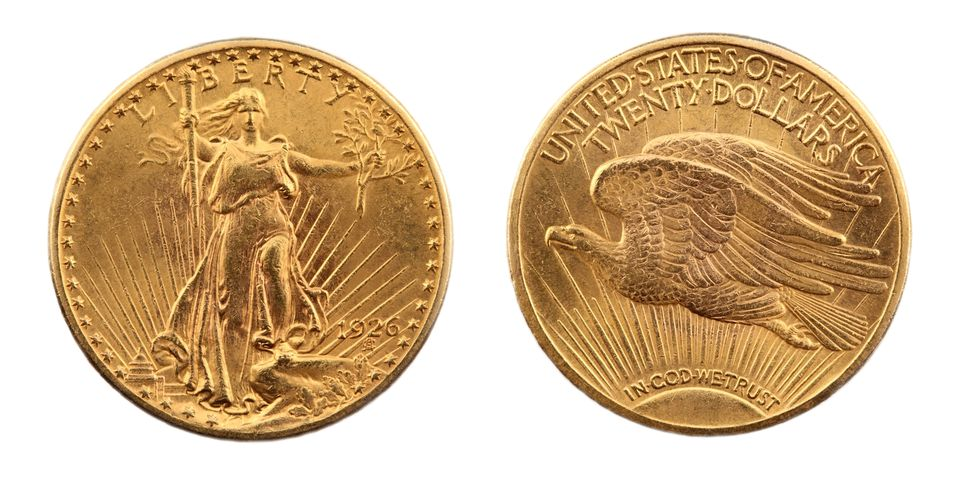 St. Gaudens Double Eagle Gold Coin