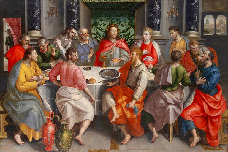 The Last Supper, by Marten de Vos