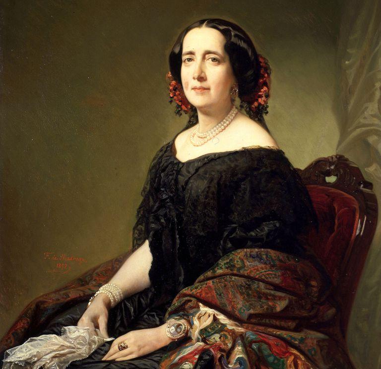 La escritora Gertrudis Gómez de Avellaneda.