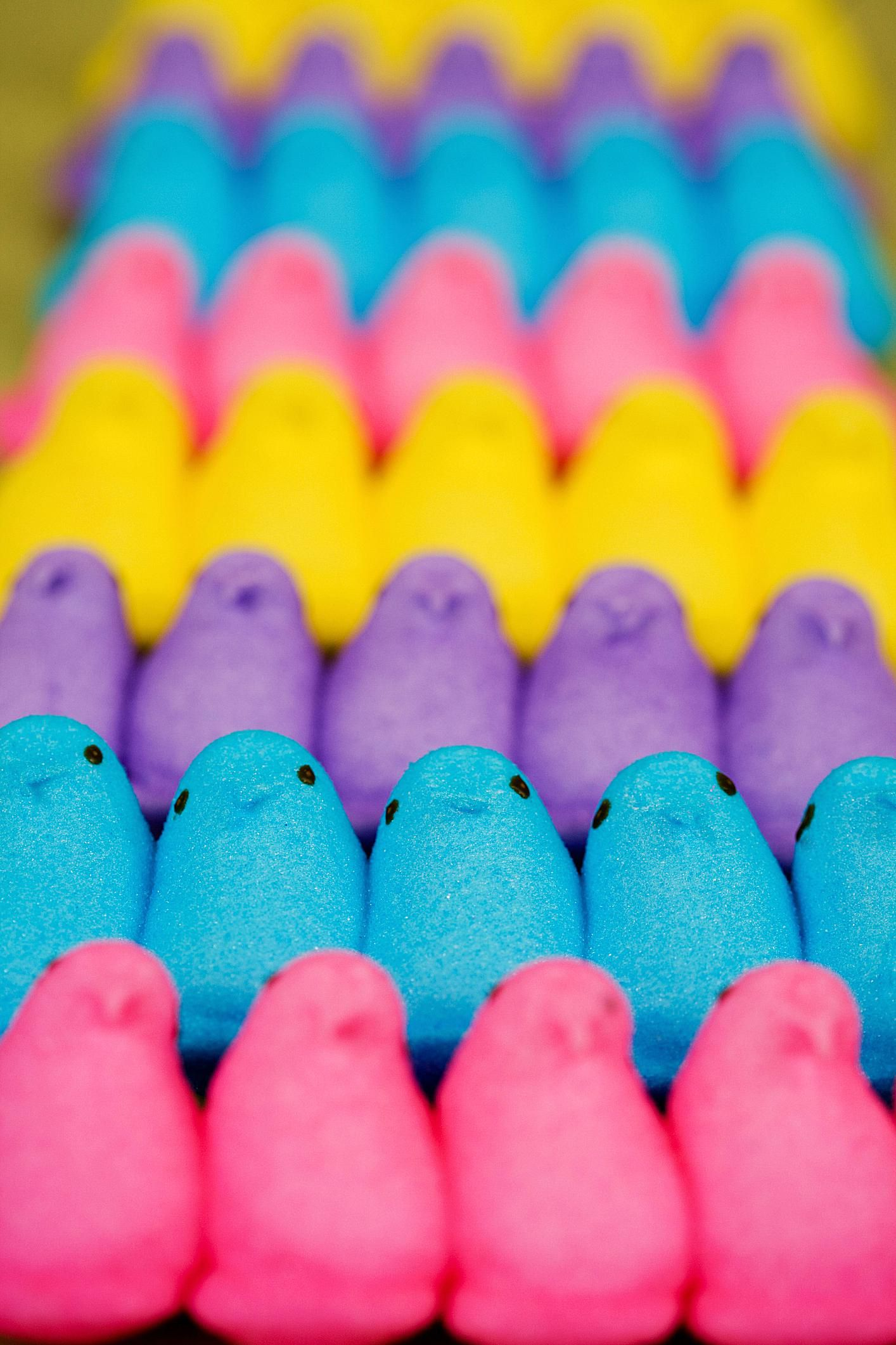 How To Make Marshmallow Chicks For Easter