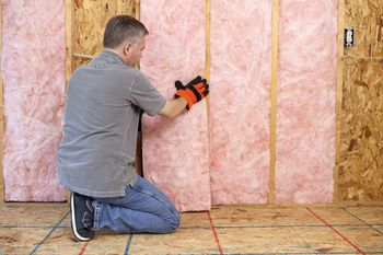 Insulation for 2x4 and 2x6 walls - How to blow insulation into exterior walls ...