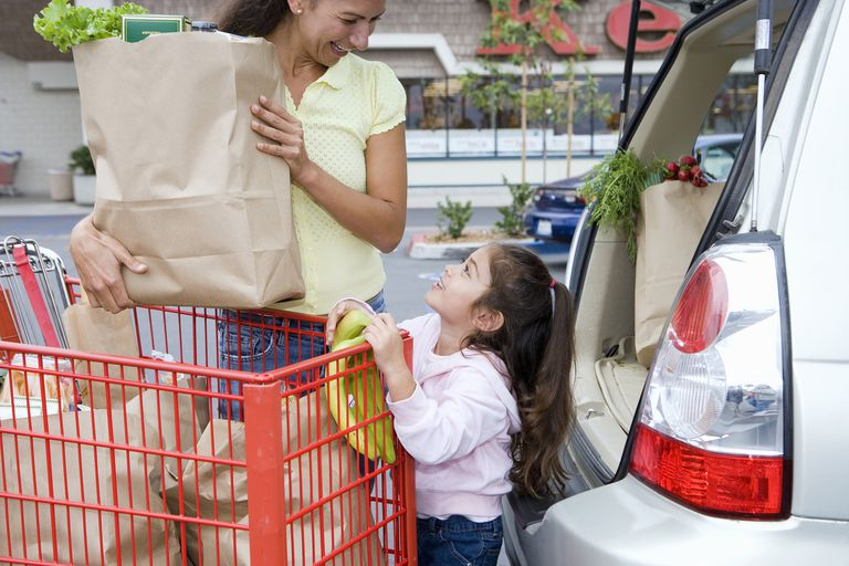 Teach your child how to stay safe when you're walking through parking lots.