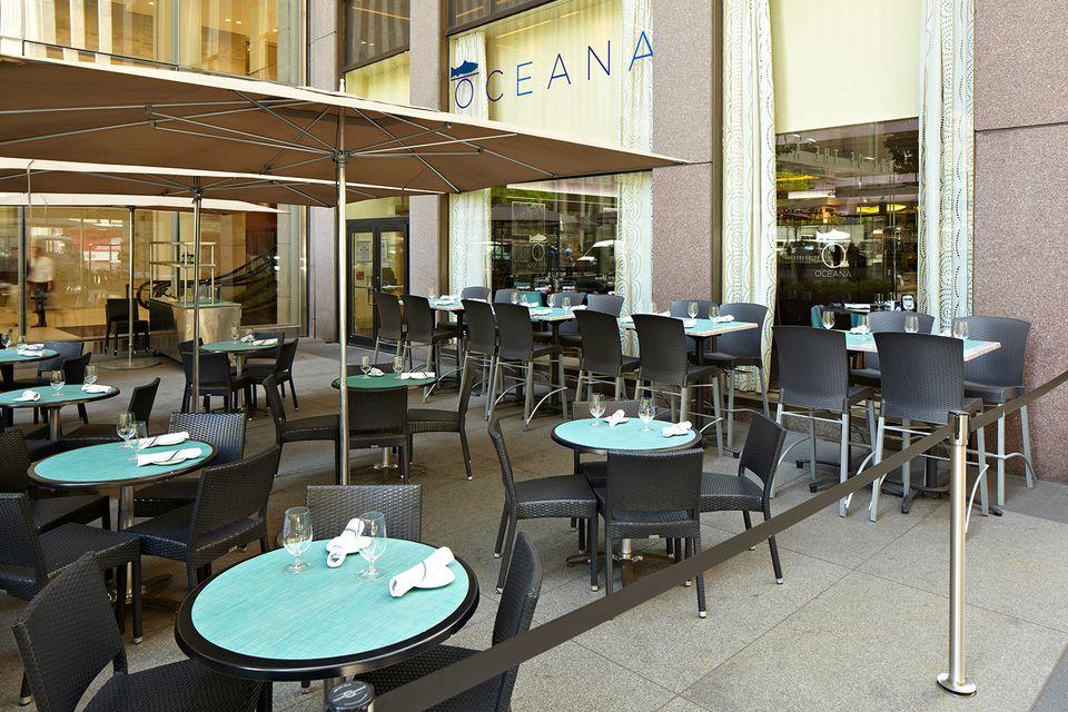 Oceana restaurant patio