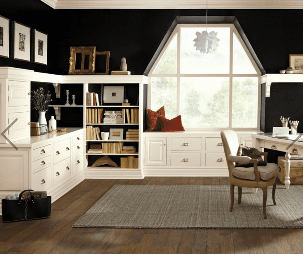 The 18 Best Home Office Design Ideas With Photos: Top Home Office Color Ideas