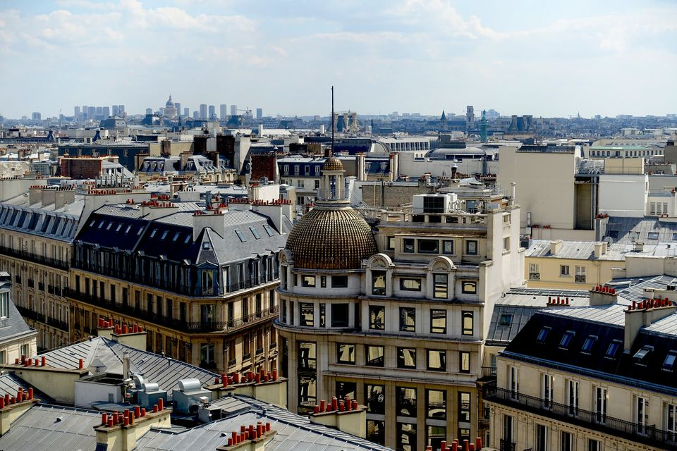 the 7 best rooftop bars in paris. Black Bedroom Furniture Sets. Home Design Ideas