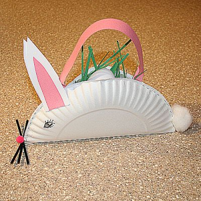 Bunny Easter Basket Craft