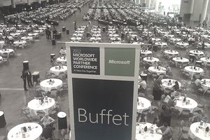 When does it makes sense to choose a buffet over a plated meal