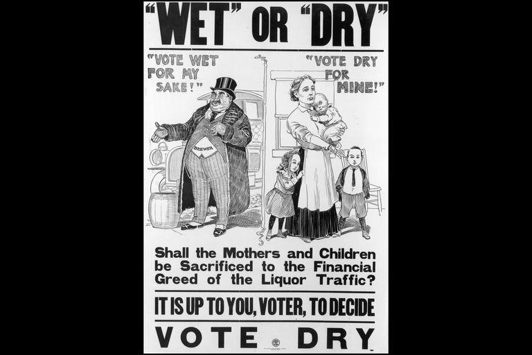 Pro-Temperance Cartoon, 1900s