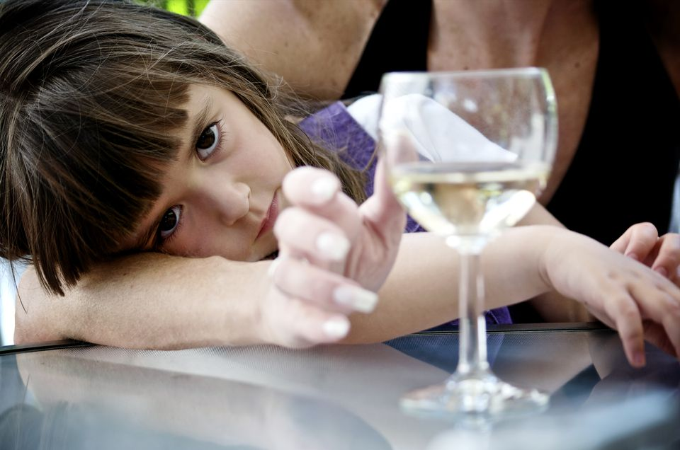 when a grandchild's parent abuses alcohol or drugs