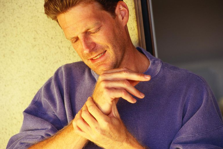 Radial nerve pain of the wrist and hand