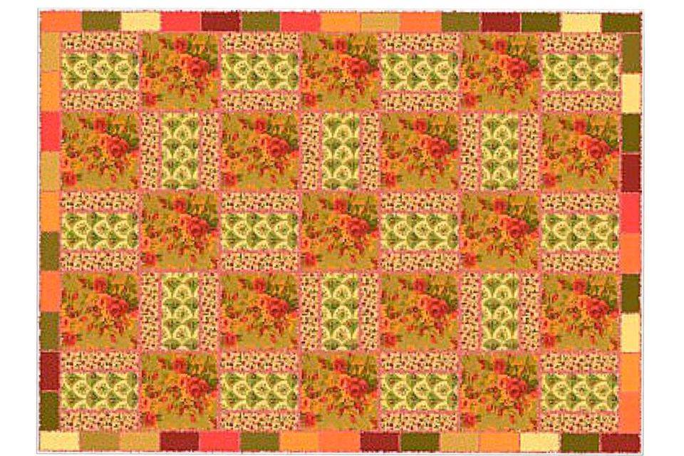 Use Focal Fabrics to Make a Rag Quilt