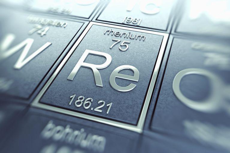 Rhenium (Chemical Element)