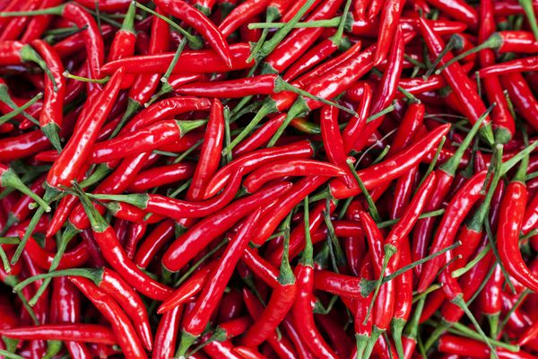 Capsaicin is the active ingredient in chili peppers.