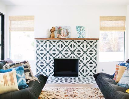 living room fireplaces. 25 Inspiring Fireplaces with Beautiful Tile 20  Living Rooms With