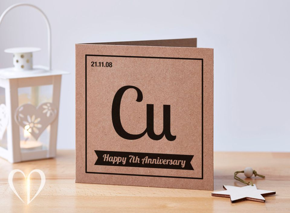 7th wedding anniversary gift ideas for Traditional 1st anniversary gifts for her