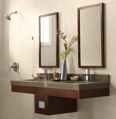 ronbow adina wall vanityjpg - Bathroom Cabinets Small