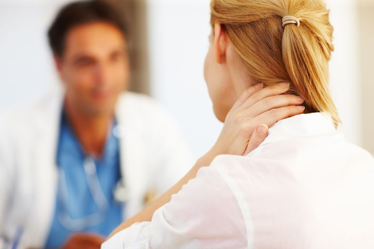 Neck pain in women.
