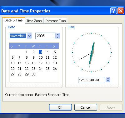 how to change time on hp laptop windows 10