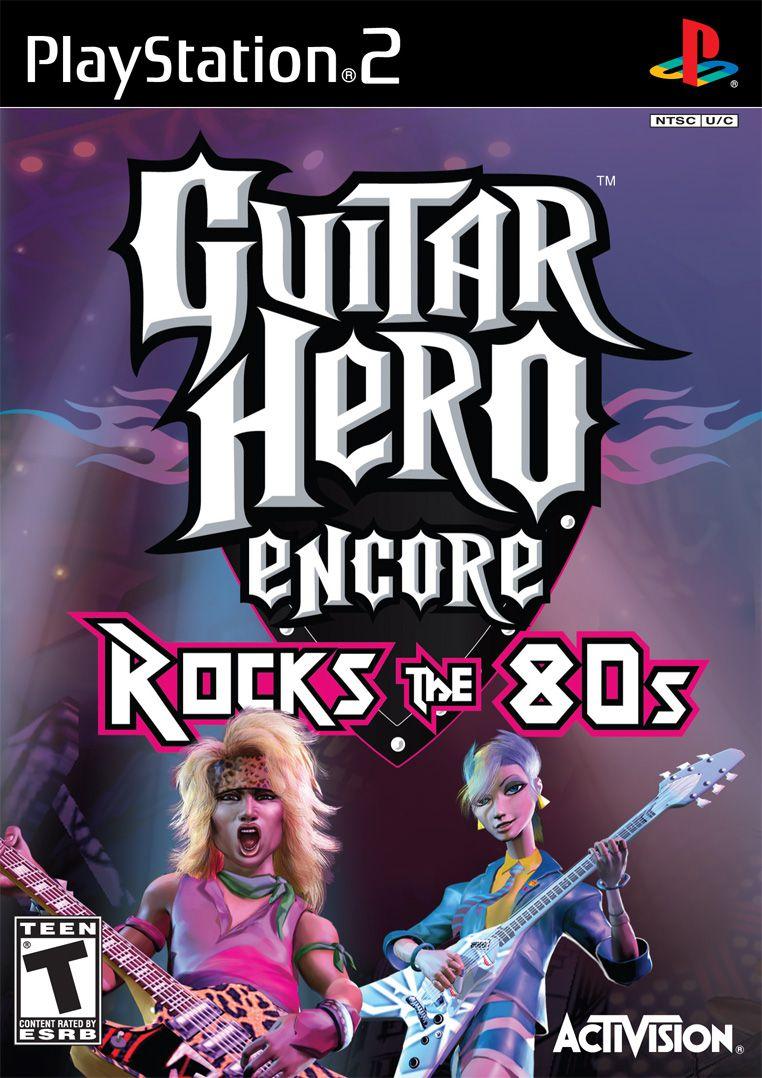 Guitar Hero Encore: Rocks the 80s (PS2)