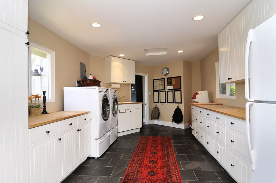 Red Carpet Laundry Room