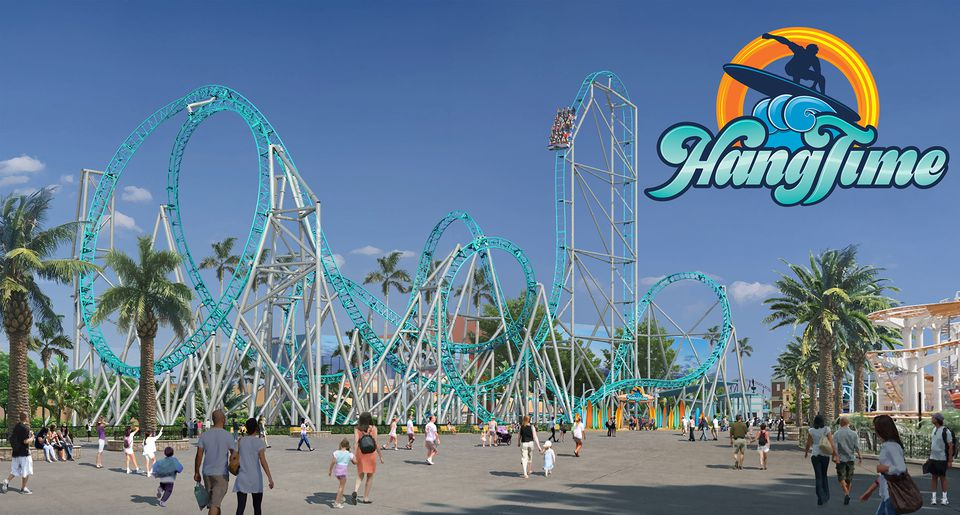HangTime Rollercoaster at Knott's Berry Farm