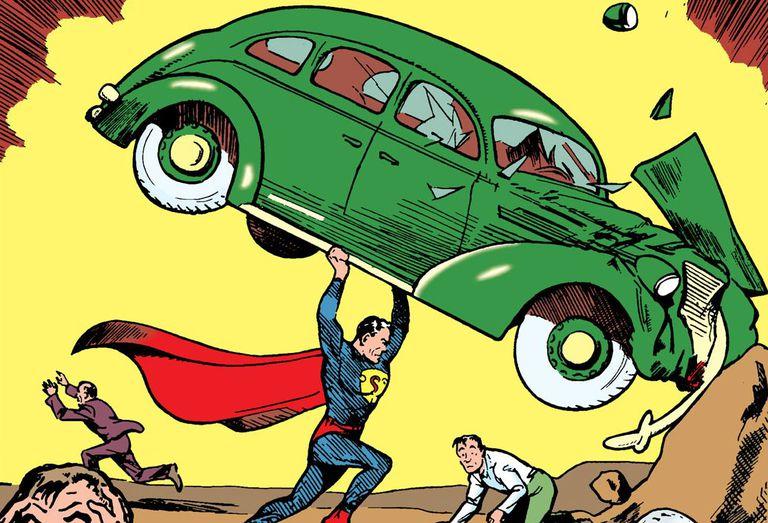 Action Comics #1 (1938) comic book cover