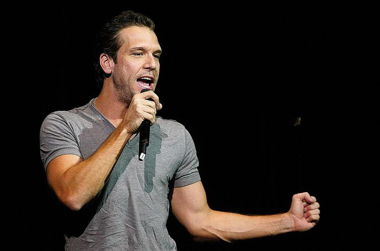 Dane Cook performs during The Comedy Festival at The Colosseum at Caesars Palace early November 22, 2008 in Las Vegas, Nevada.