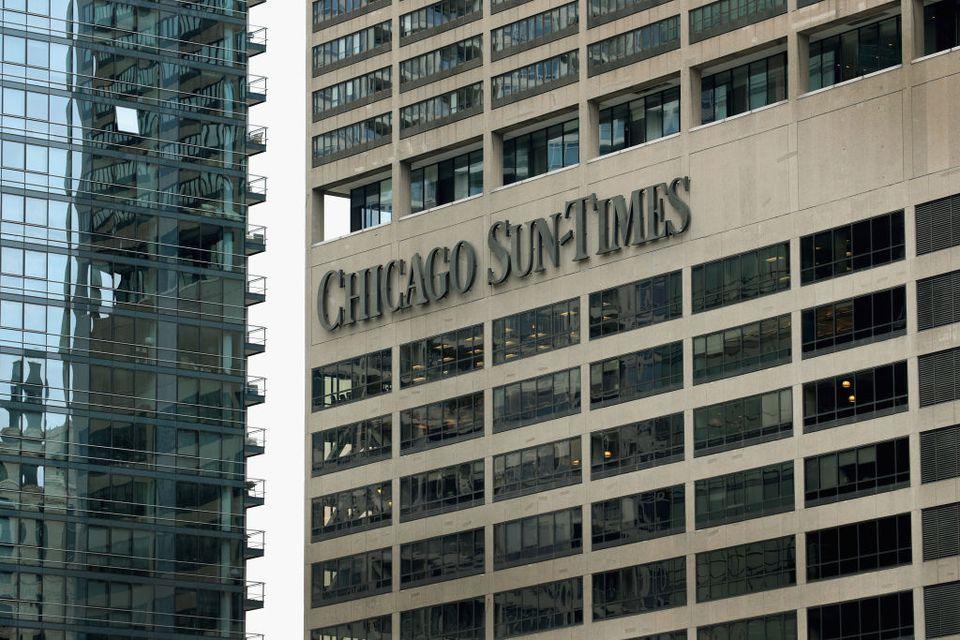 Chicago Tribune Parent Tronc Seeks To Acquire Chicago Sun-Times