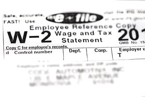 How to E-File Form W-2