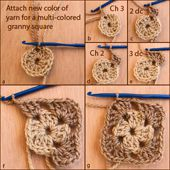 Crochet Instructions -- We've Posted Step by Step Crochet Tutorials and Instructions