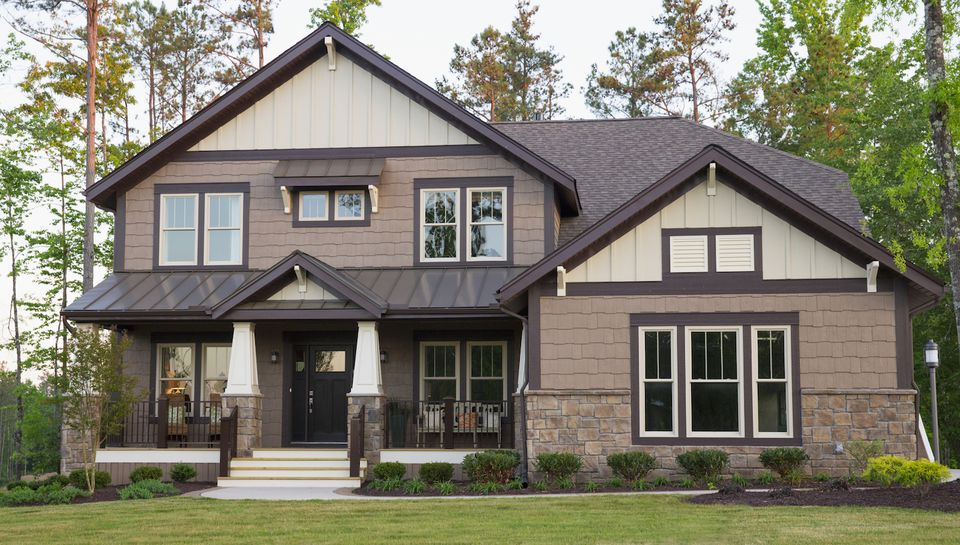 Exterior home color ideas siding