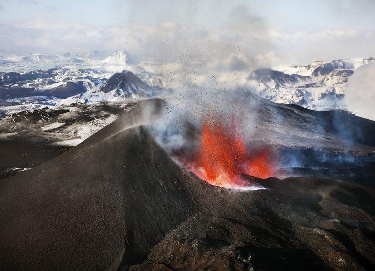Eyjafjallajökull Volcano Erupts In Iceland, 2010