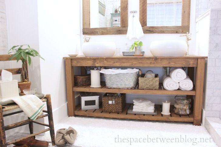 sewing cabinet bathroom vanity farm table wood furniture vanities spa from the space between