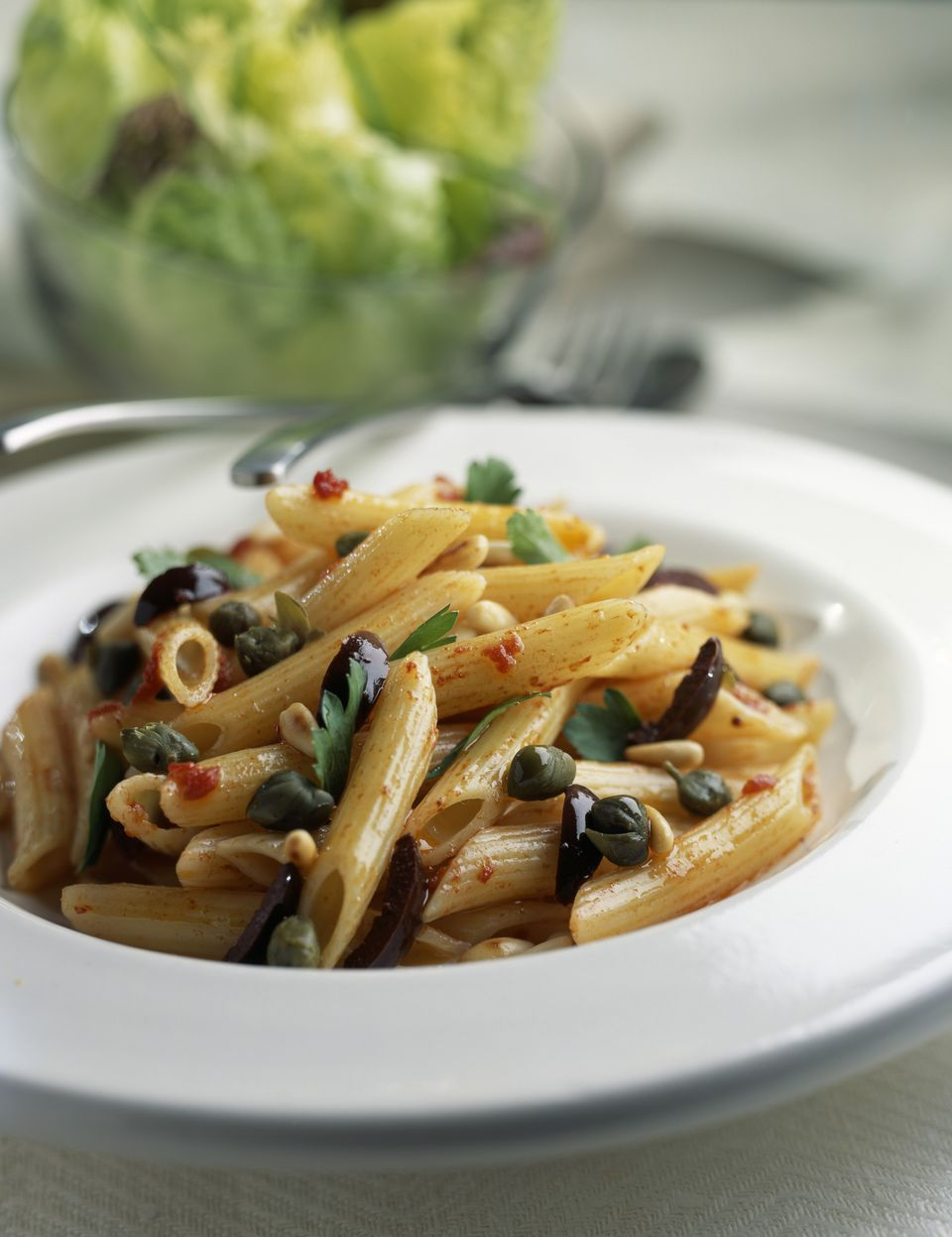 how to use capers in pasta