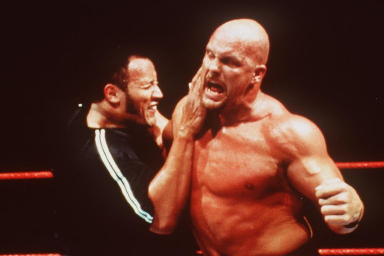 The Rock and Steve Austin both made their WWE debuts in 1996