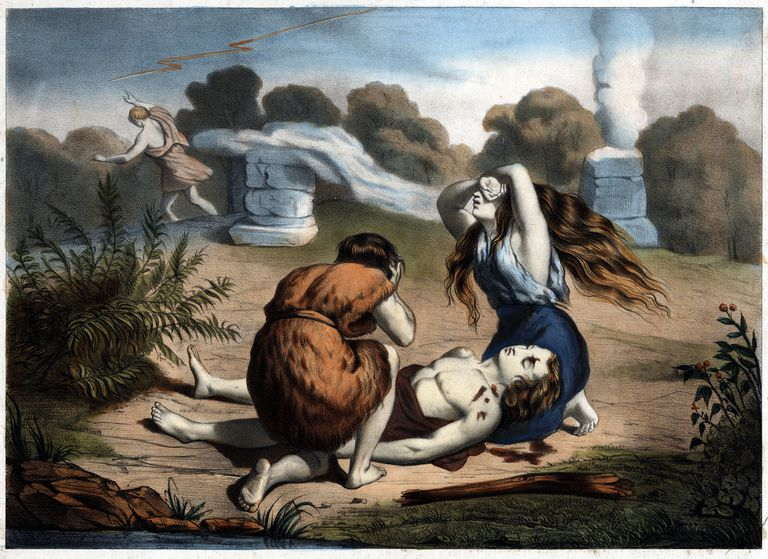 The death of Abel in the Bible