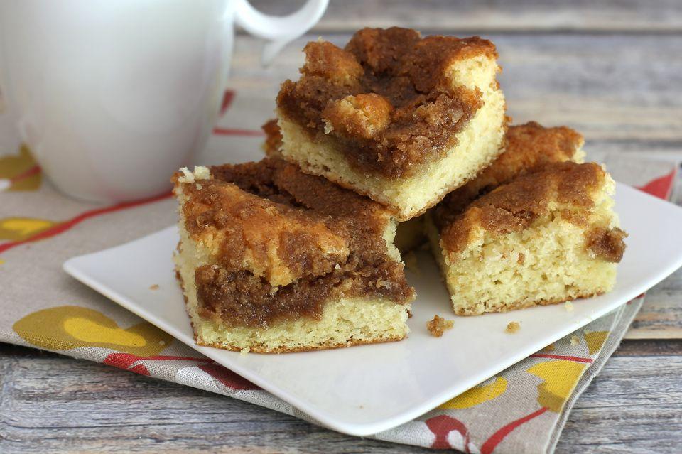 Brown Sugar Streusel Topped Coffee Cake