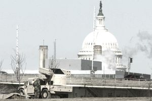 An 'Avenger' Missile System On Alert In Washington