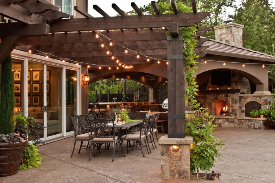 50 Stylish Covered Patio Ideas on Backyard Overhang Ideas id=33368