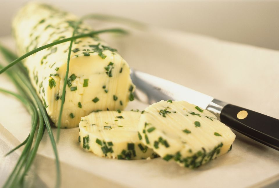 Chive butter