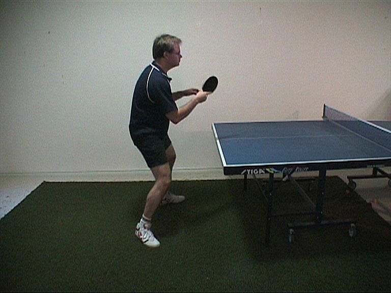Photo of Forehand Push - Ready Position